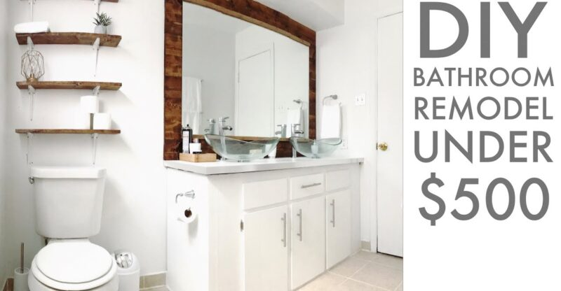 Remodeling-a-bathroom-for-Under-500-DIY-How-To-Modern-Builds-EP.-67