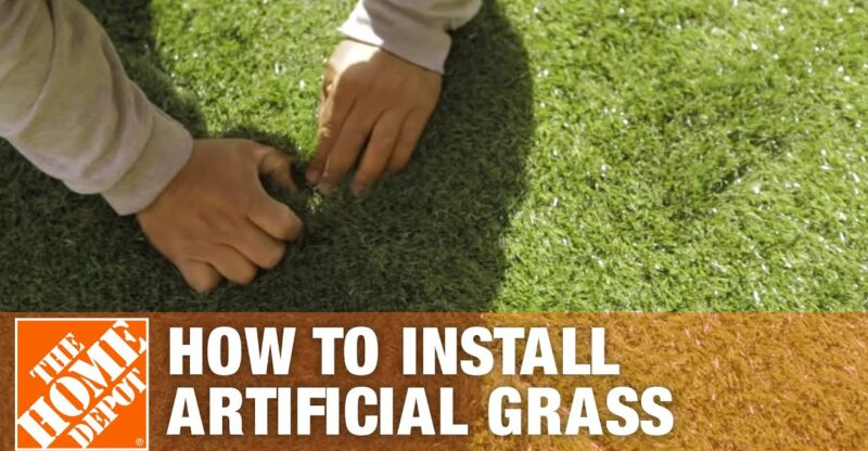 How-to-Install-Artificial-Grass-The-Home-Depot